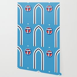 Coventry City Classic Double Striped Kit - 75 - 81 T-Shirt Wallpaper