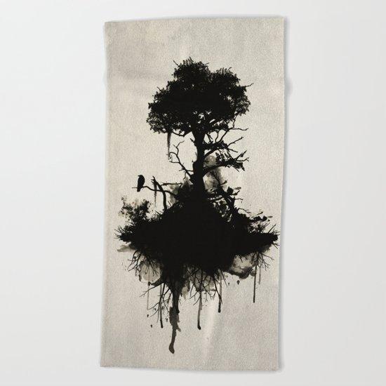 Last Tree Standing Beach Towel