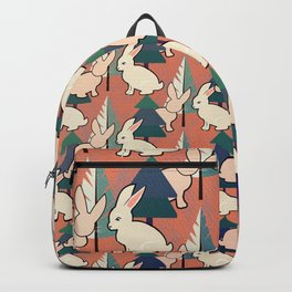Bunnies and Trees 1 Backpack
