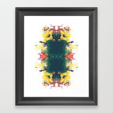 Summer Bouquet Psychedelia 2012 Framed Art Print