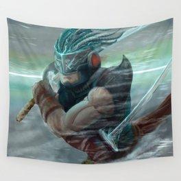 Ninja futur Wall Tapestry