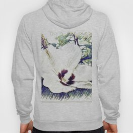 The Art Of A Hibiscus Flower Hoody