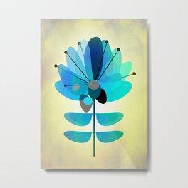 Die Blaue Blume Metal Print
