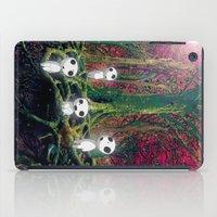kodama iPad Cases featuring Kodama under the tree by pkarnold + The Cult Print Shop