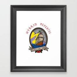 sailin' on Framed Art Print