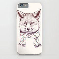 Fox and scarf iPhone 6s Slim Case