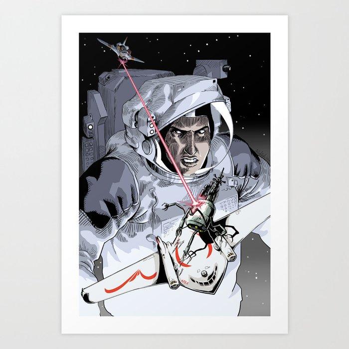Battle-Nauts Art Print