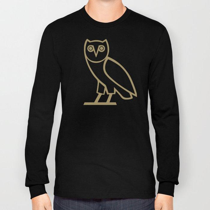 Classic Owl - Black Long Sleeve T-shirt