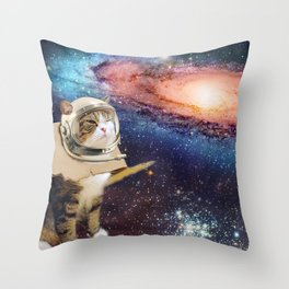 Multidimensional Universal Traverler Throw Pillow