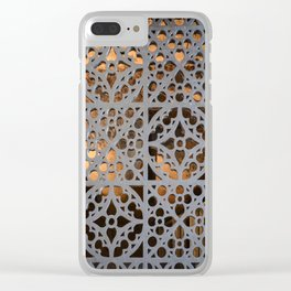 Crypt Door Detail Clear iPhone Case