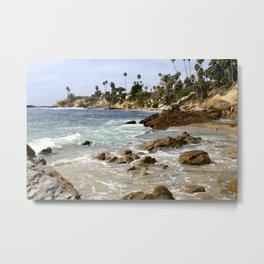 Heisler Park, Laguna Beach Metal Print