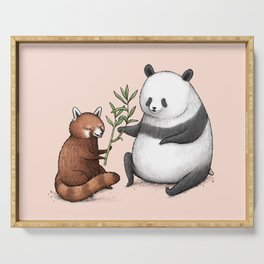 Panda Friends Serving Tray