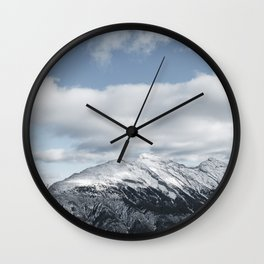 Winter Rundle Wall Clock