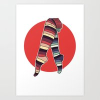 Ni Hachi Art Print