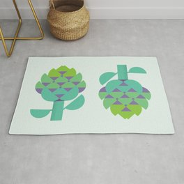 Vegetable: Artichoke Rug