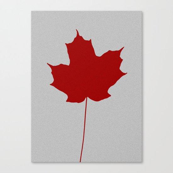 Leaf de jour Canvas Print