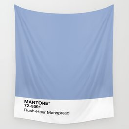 MANTONE® Rush-Hour Manspread Wall Tapestry