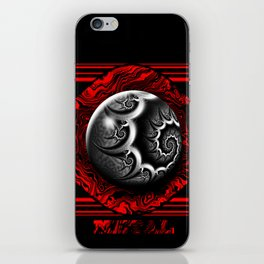 Gothic Metal Marble iPhone Skin