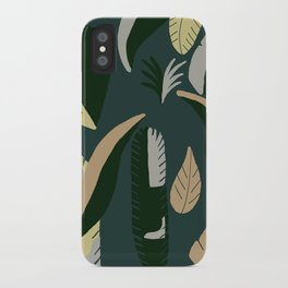 Love & Trust - Green Leafs & Paradise iPhone Case