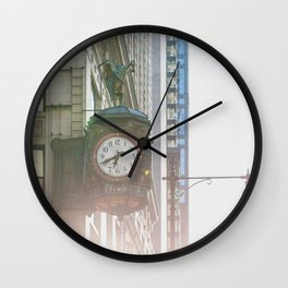 Father Time - Iconic Chicago Architecture Wall Clock