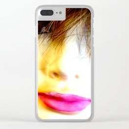 Dirty Burnout Clear iPhone Case
