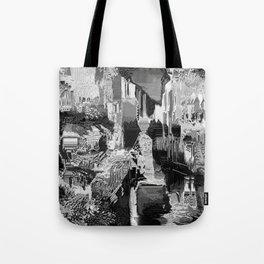 metal canal Tote Bag