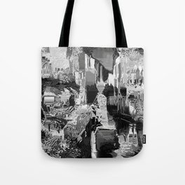 metal canal Tote Bag