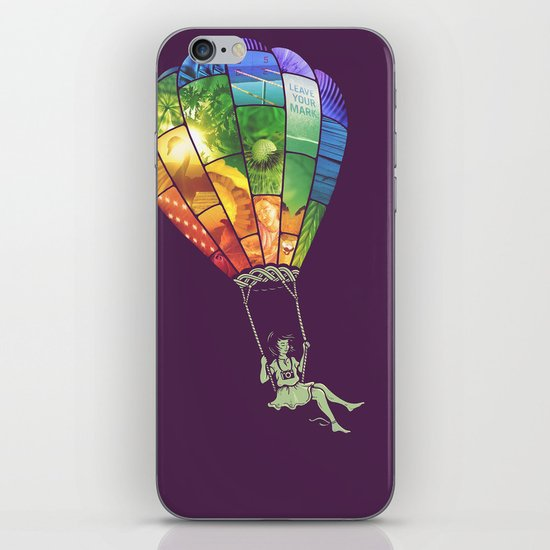 Carpe Diem iPhone Skin