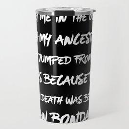 Bury Me In The Ocean Travel Mug