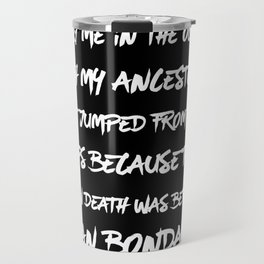 Bury Me In The Ocean Travel Mug