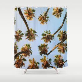 Palm trees overload Shower Curtain