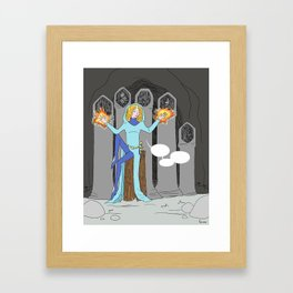 Hypnosis Framed Art Print
