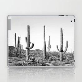 Grey Cactus Land Laptop & iPad Skin