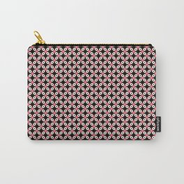 Pink Black Star Pattern Carry-All Pouch