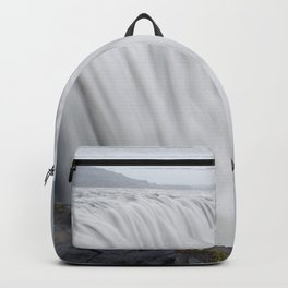 The greatest waterfall in Europe Backpack