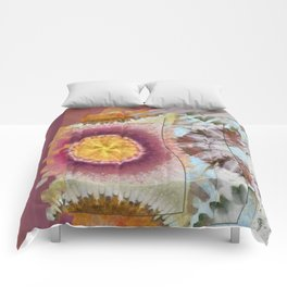 Tacheometry Natural Flower  ID:16165-065451-00761 Comforters
