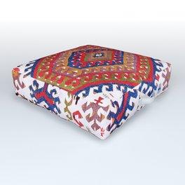 Hotamis Konya Central Anatolian Kilim Print Outdoor Floor Cushion