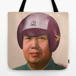 Helmet Mao Tote Bag
