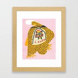 Si Voglio Bene Framed Art Print