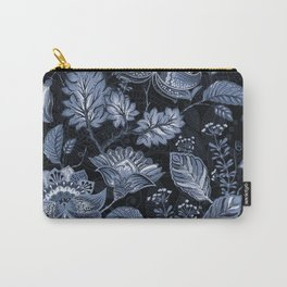 Blooms in the blue night Carry-All Pouch