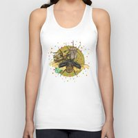insect Tank Tops featuring Insect Universe by dogooder