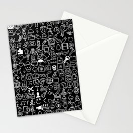 ICONS Overdrive, White and Black Stationery Cards