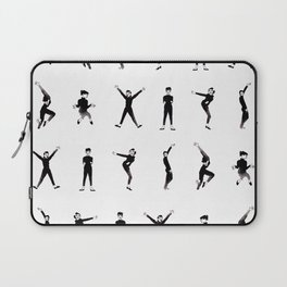 Audrey dance - Pattern Laptop Sleeve