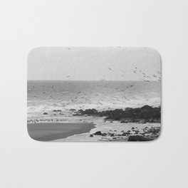 Beach, Calais, France. Bath Mat