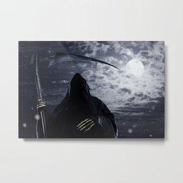 Grim Reaper 001 Metal Print