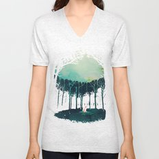 Deep in the forest Unisex V-Neck