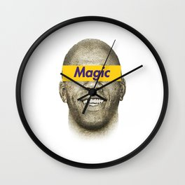 Magic Johnson Wall Clock