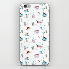 Summer houses iPhone & iPod Skin