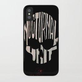 NU skull iPhone Case