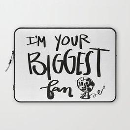 biggest fan Laptop Sleeve
